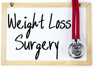 Weight loss surgery.